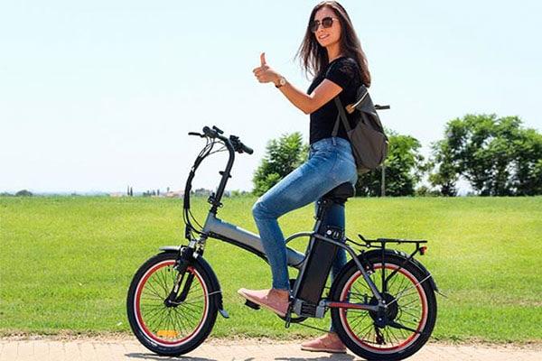 Bicicletas eléctricas urbanas chica